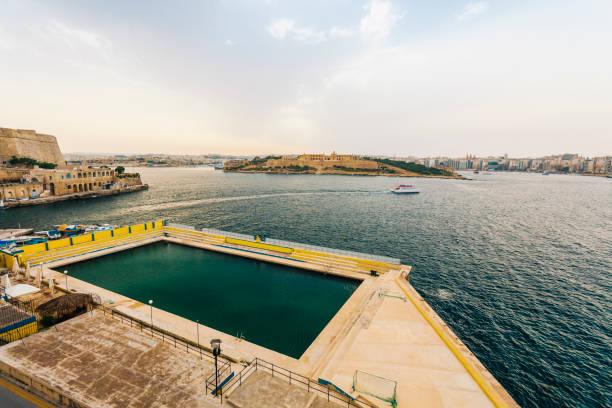 Freibad in Valletta, Malta – Foto