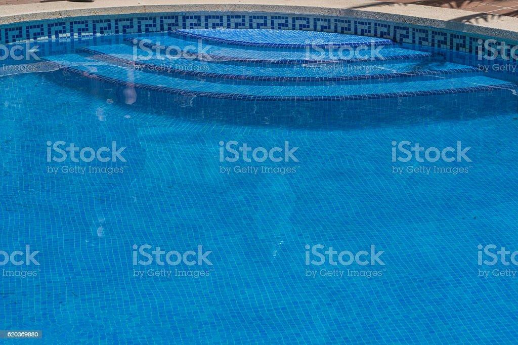 Odkryty basen, zbiór zdjęć royalty-free