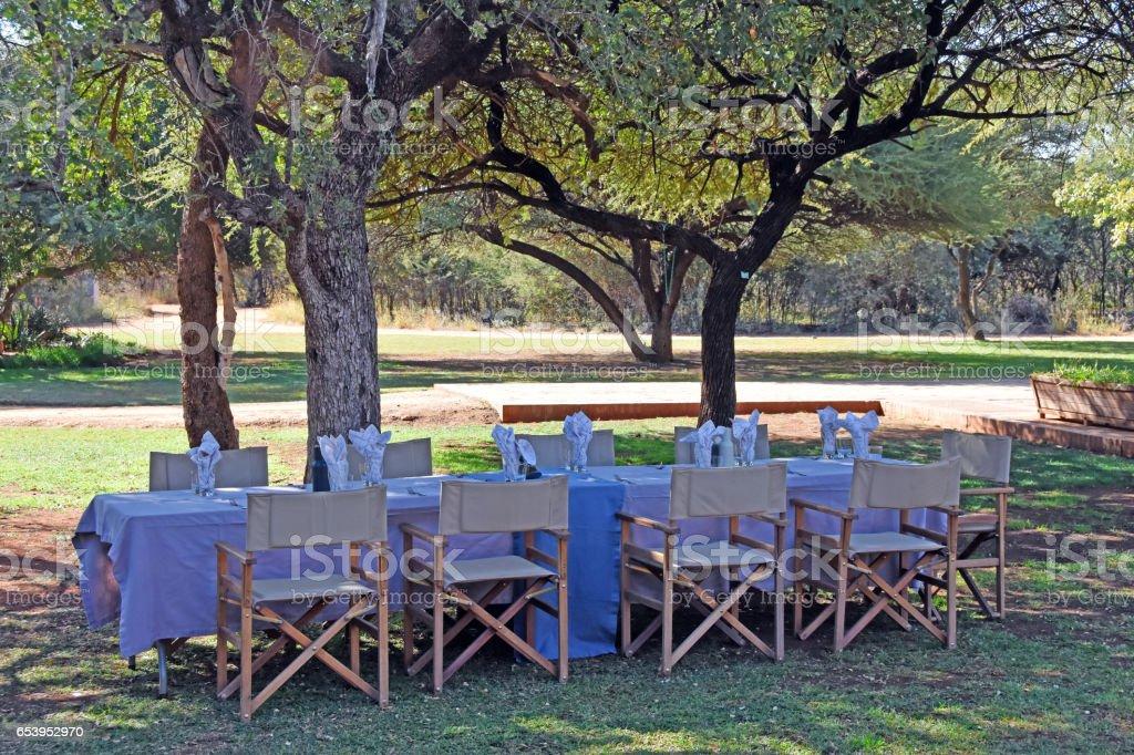 outdoor table – Foto