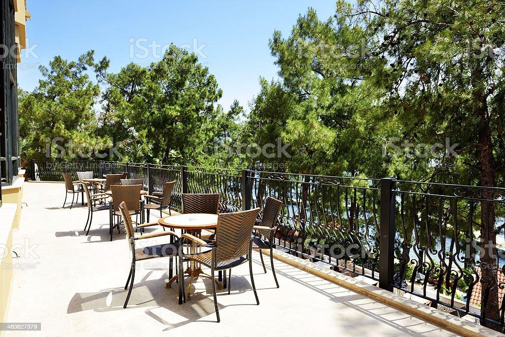 Photo libre de droit de Terrasse Extérieure Du Restaurant De ...