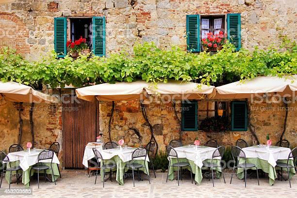 Outdoor trattoria in a quiant village in tuscany italy picture id453203585?b=1&k=6&m=453203585&s=612x612&h=zhqjqmhi fnr8g4sr4uktspemculf0x tzz1v8r19da=