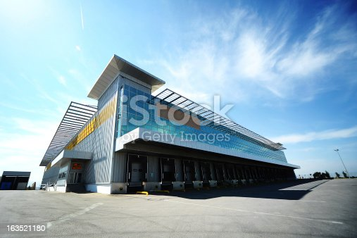istock Outdoor warehouse 163521180