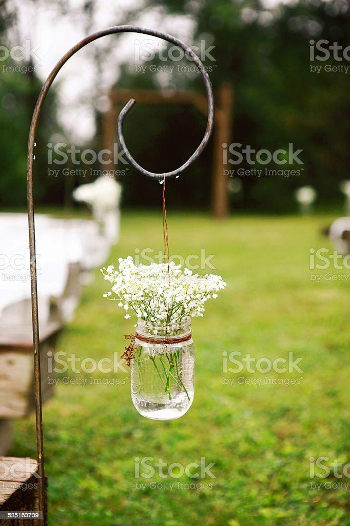Décorations de mariage en plein air - Photo