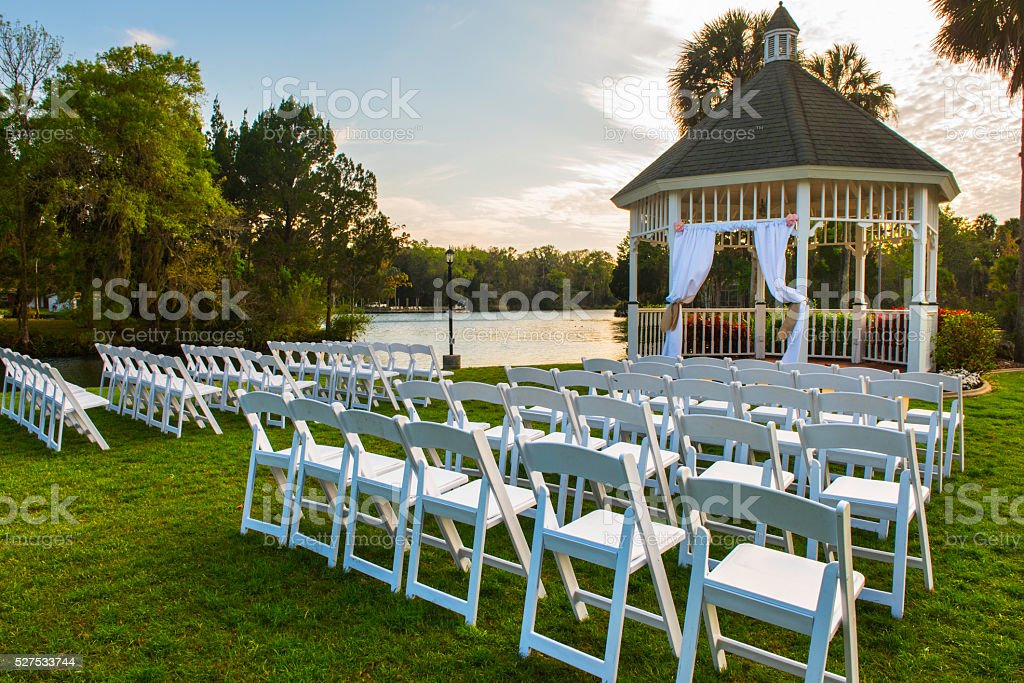 Outdoor Wedding stock photo