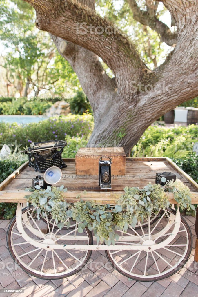 Outdoor Wedding stock photo