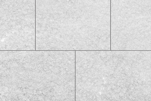 Outdoor White Stone Tile Floor Seamless Background And ...