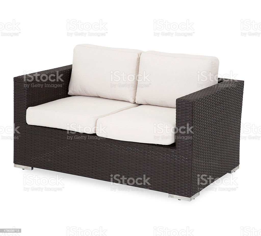 Admirable Outdoor Wicker Loveseat Stock Photo Download Image Now Ocoug Best Dining Table And Chair Ideas Images Ocougorg