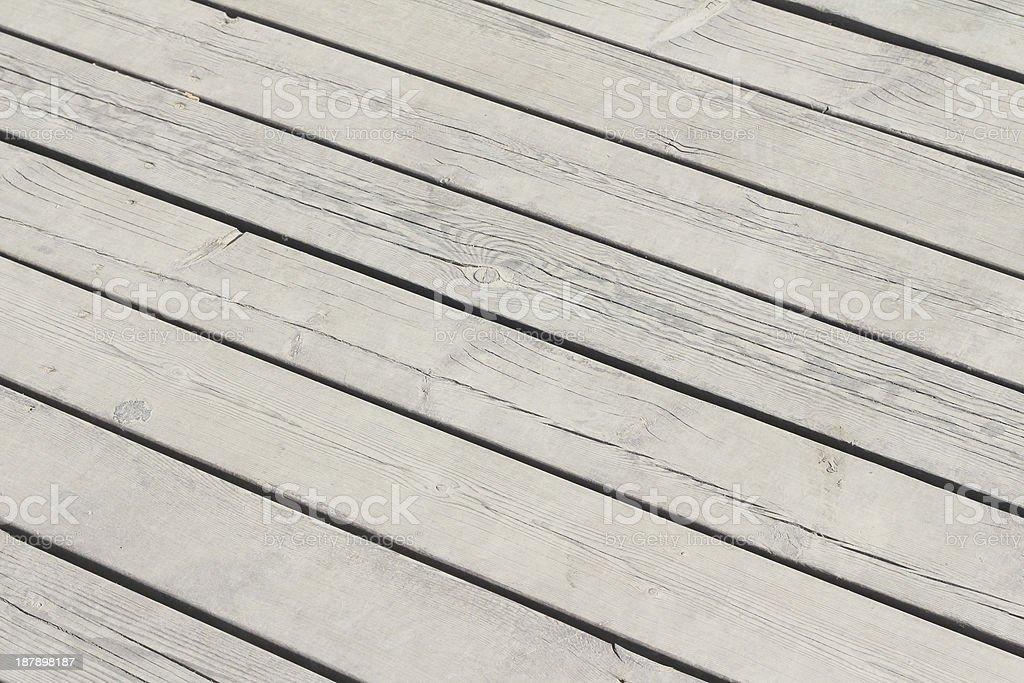 Outdoor wood floor royalty-free stock photo