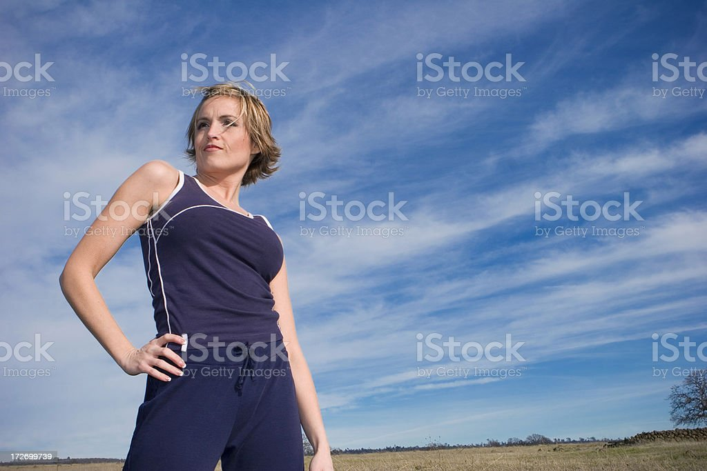 Outdoor Workout royalty-free stock photo
