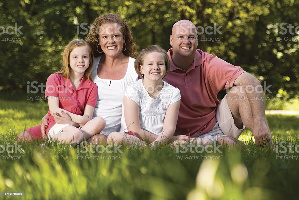 Outdoors Family Series royalty-free stock photo