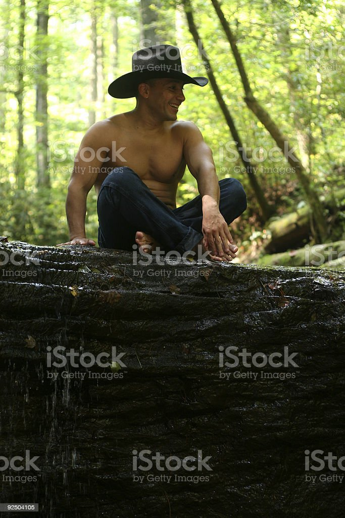 Outdoors Guy royalty-free stock photo
