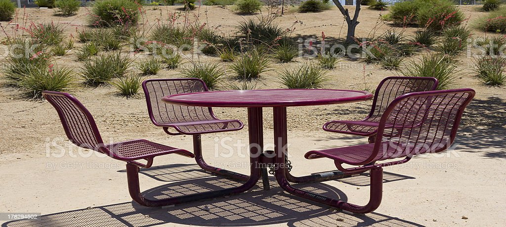 Outdoors in  Phoenix Heat, AZ royalty-free stock photo