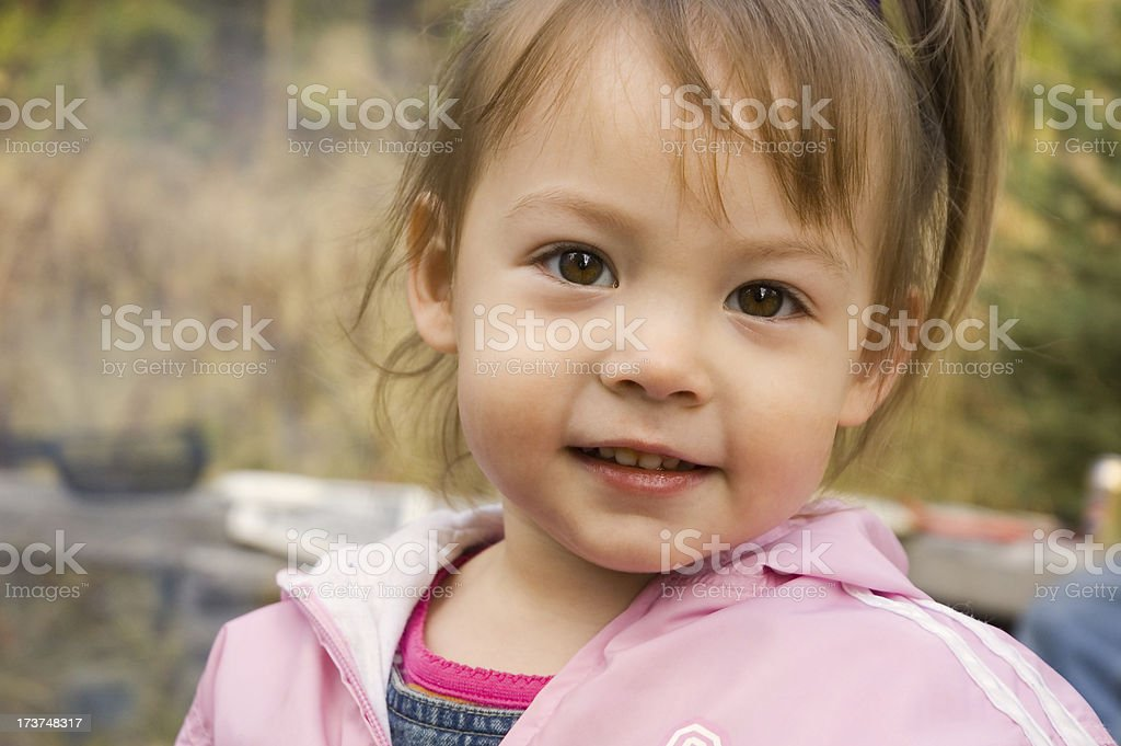 Outdoors Kid royalty-free stock photo