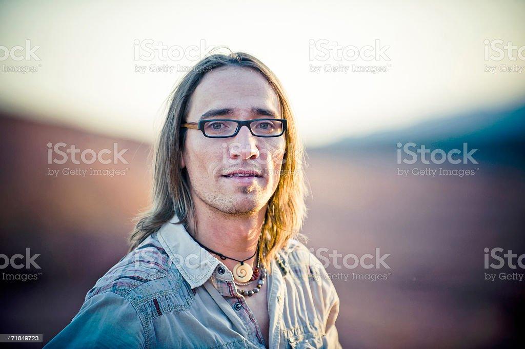 Outdoors Man stock photo