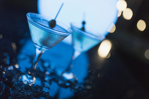 Cocktail photography.