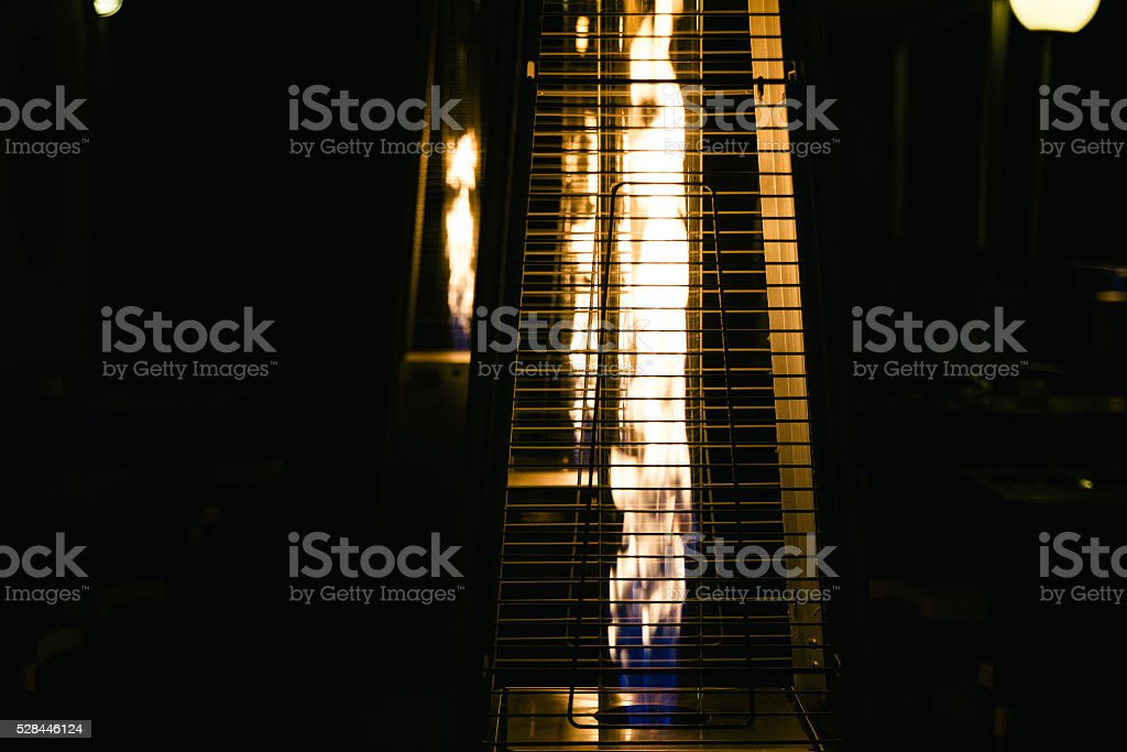 Outdoors stove stock photo