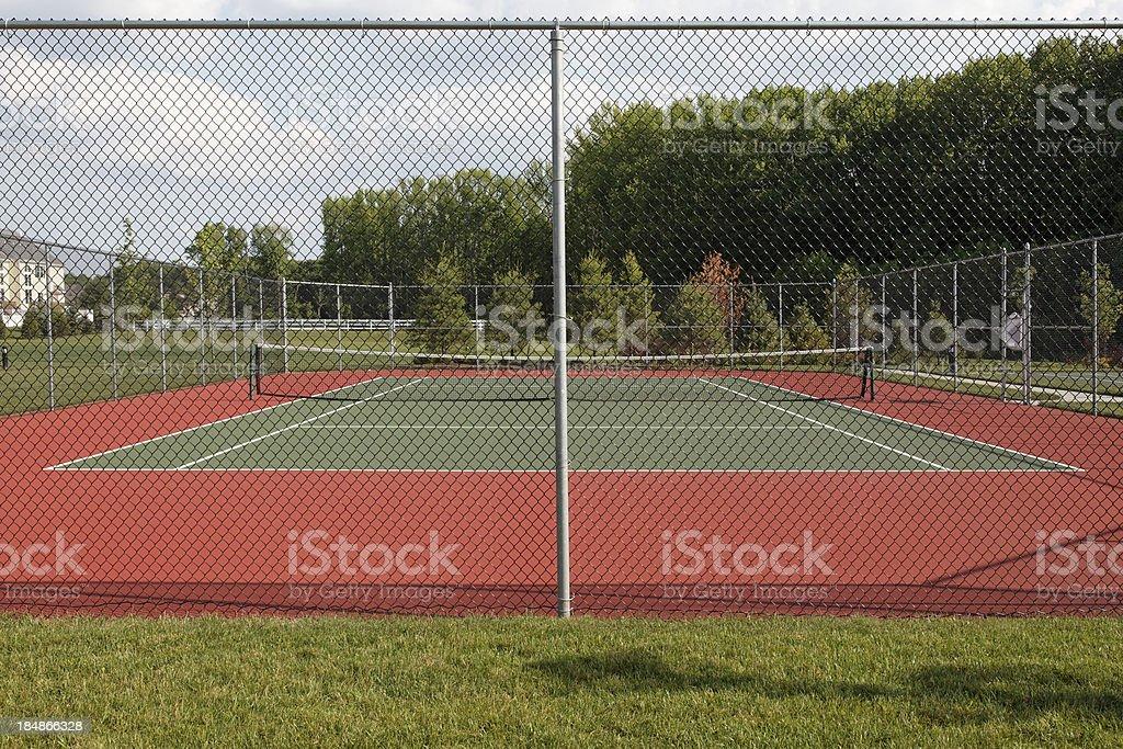 Outdoors Tennis Court stock photo