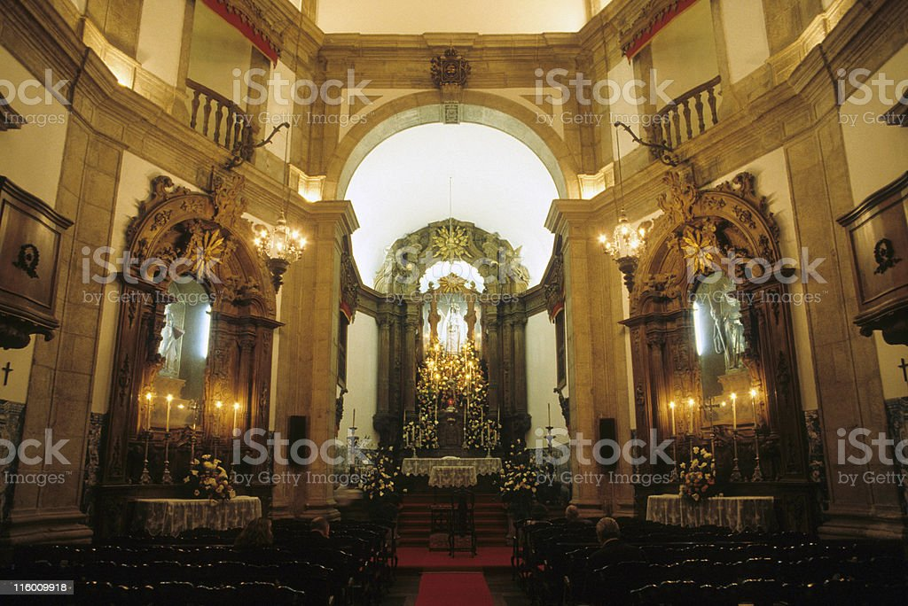 Outeiro da Gloria church in Rio de Janeiro royalty-free stock photo