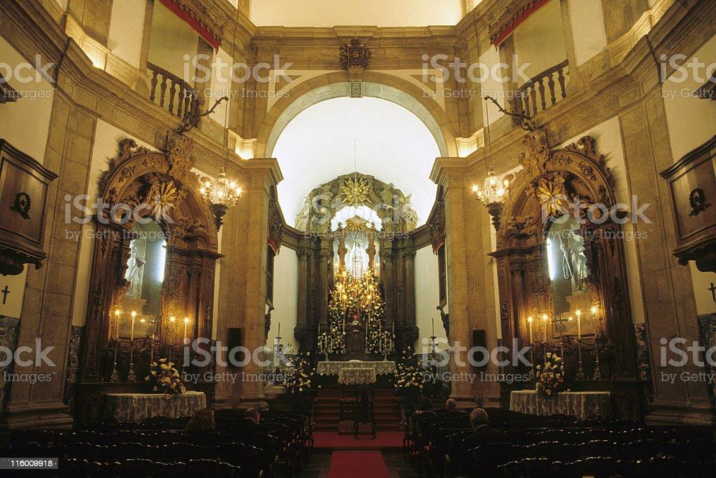 Outeiro da Gloria church in Rio de Janeiro stock photo