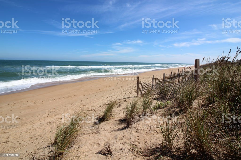 Outer Banks Beach stock photo