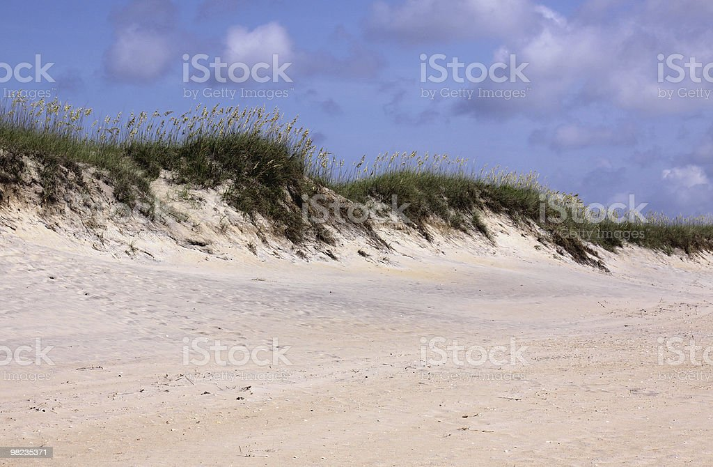 Outer Banks Beach royalty-free stock photo