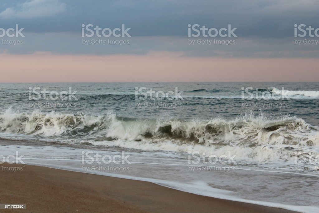 Outer Banks Surf stock photo