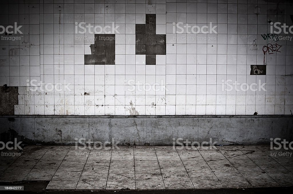 grunge exterior royalty-free stock photo
