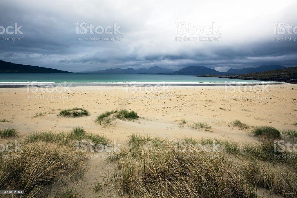 Outer Hebrides, Scotland: Deserted beach royalty-free stock photo