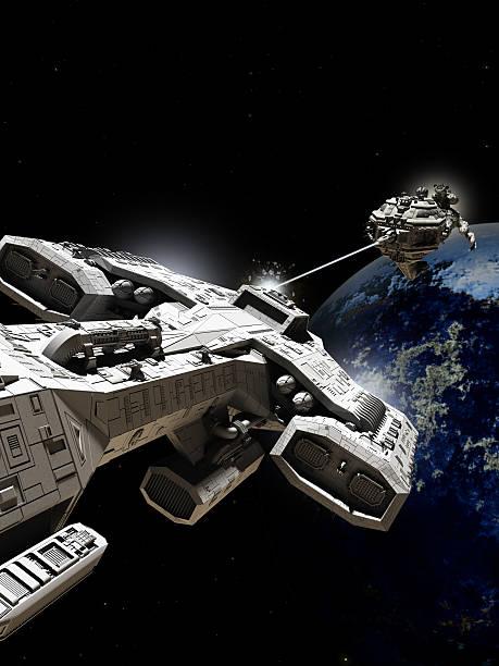 Espaço Sideral batalha - foto de acervo