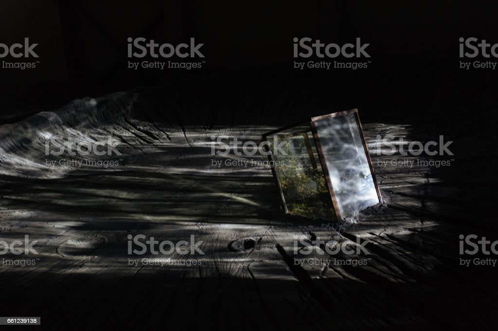 outer space stock photo