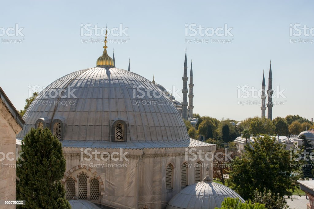 Outer view of dome in Ottoman architecture - Royalty-free Ancient Stock Photo