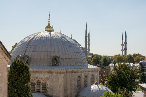 Outer View Of Dome In Ottoman Architecture Stock Photo - Download Image Now
