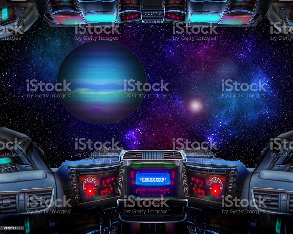 Outerspace. stock photo
