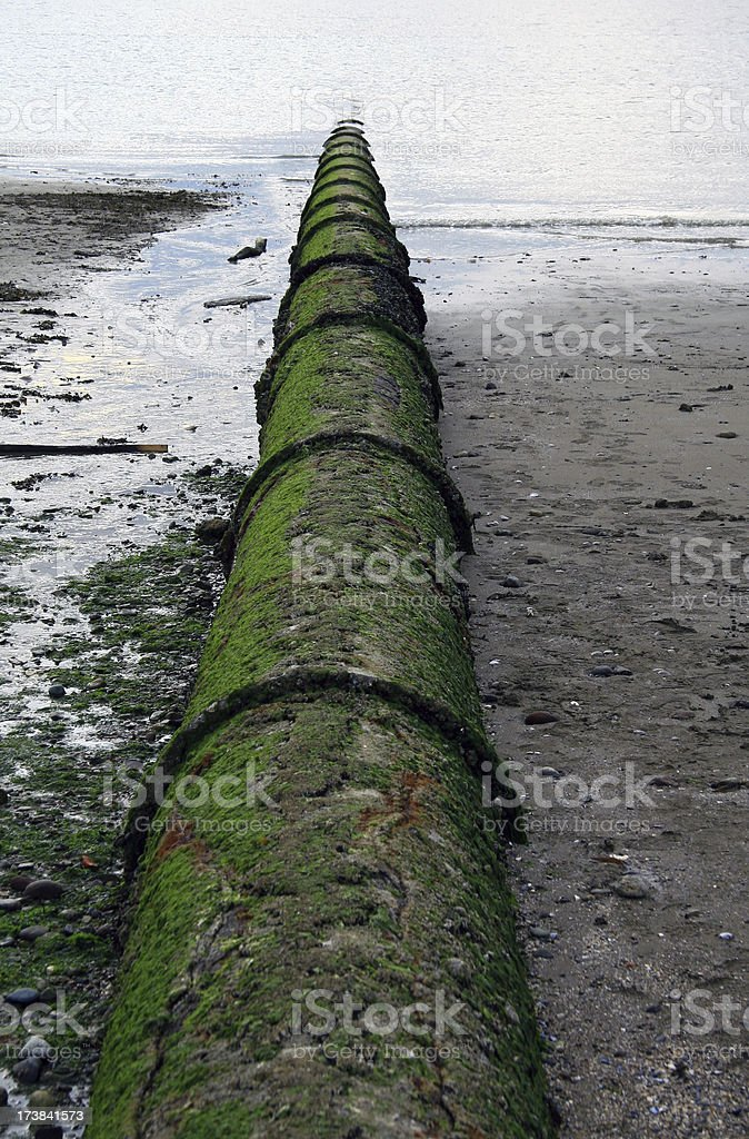 Outfall royalty-free stock photo