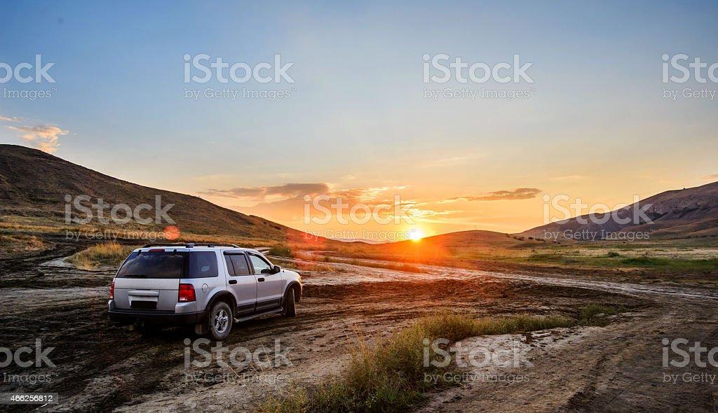 outlander stock photo