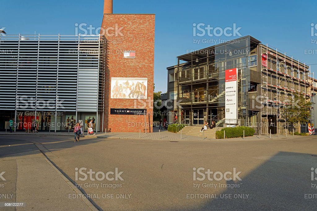 Outlet City Metzingen Stock Photo Download Image Now iStock