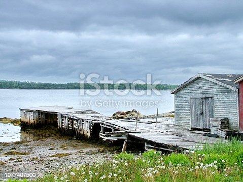 Outport Village in Newfoundland, Canada