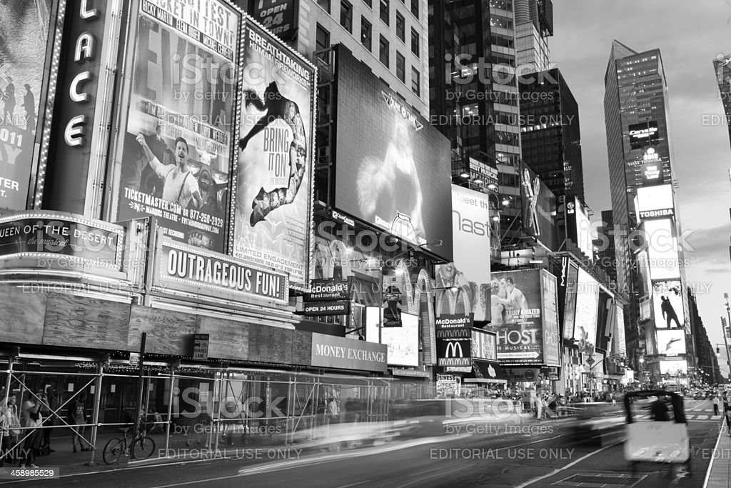 Outrageous Fun In Times Square royalty-free stock photo