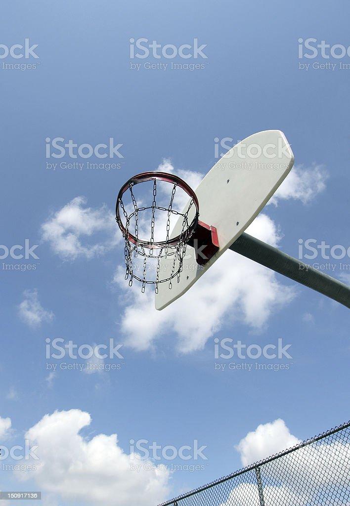 outside basketball royalty-free stock photo