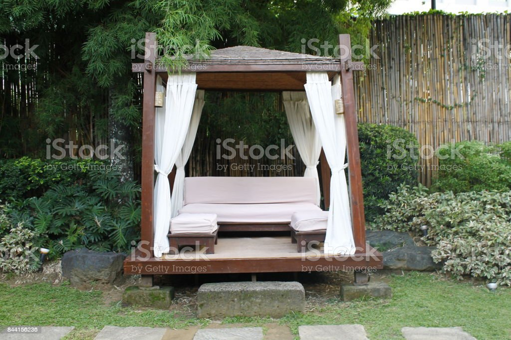 iStock & Outside Bed Front View Stock Photo - Download Image Now - iStock