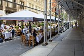 istock Outside dining 1271788705