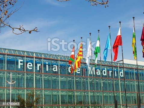 istock Outside Flags - IFEMA 514769943