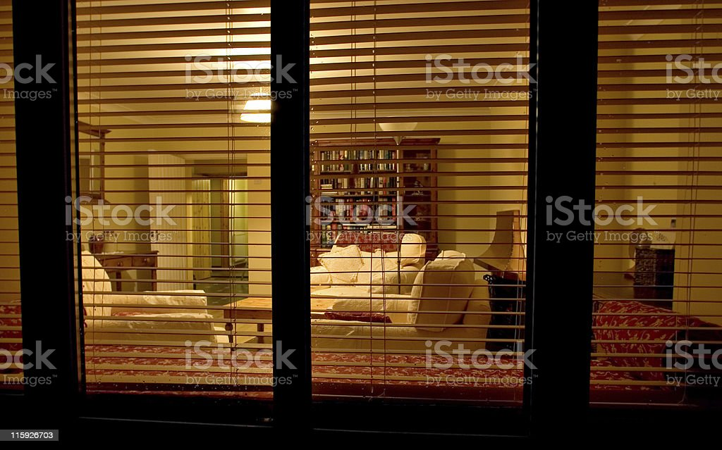 Outside - Looking In. royalty-free stock photo