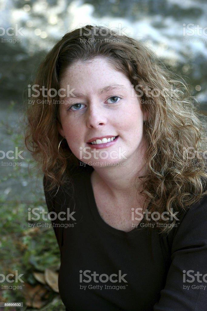 Porträt von außerhalb Lizenzfreies stock-foto