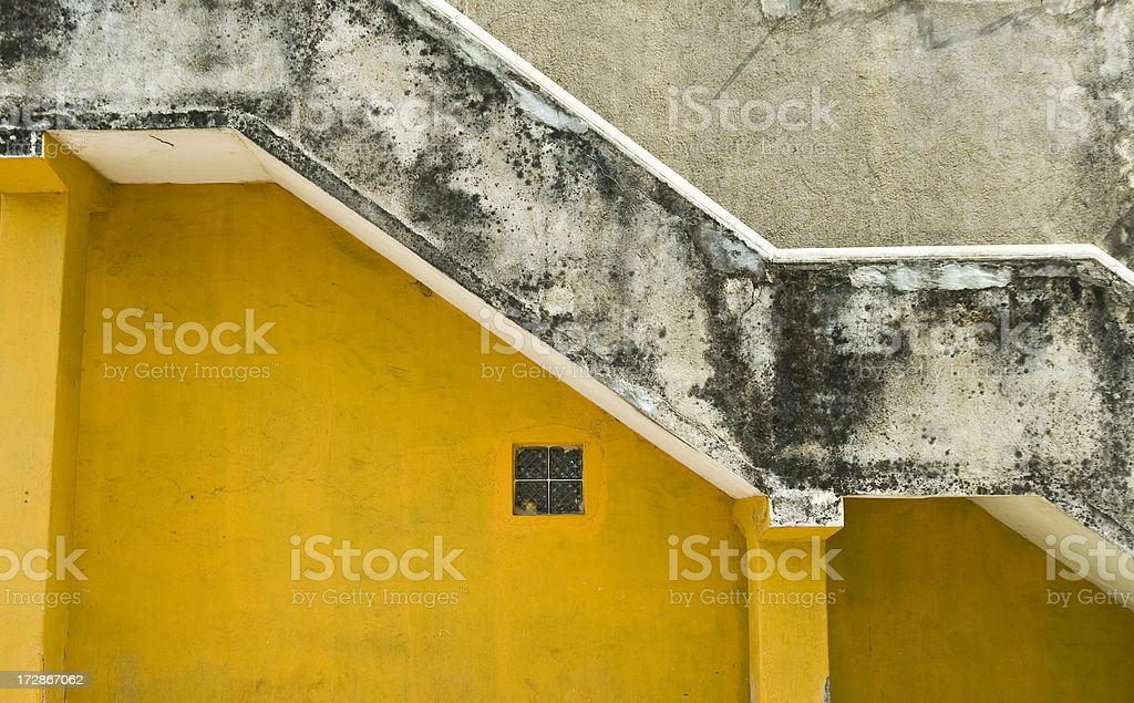 Outside Staircase royalty-free stock photo