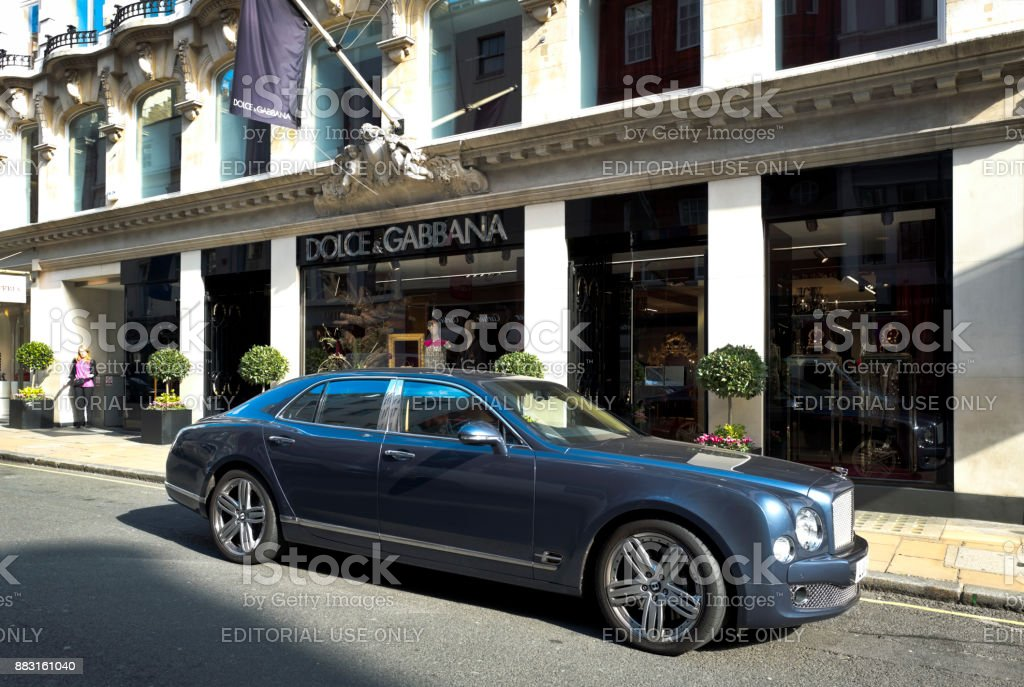 5008a09f9d Outside The Dolce Gabbana Store In Old Bond Street London ...