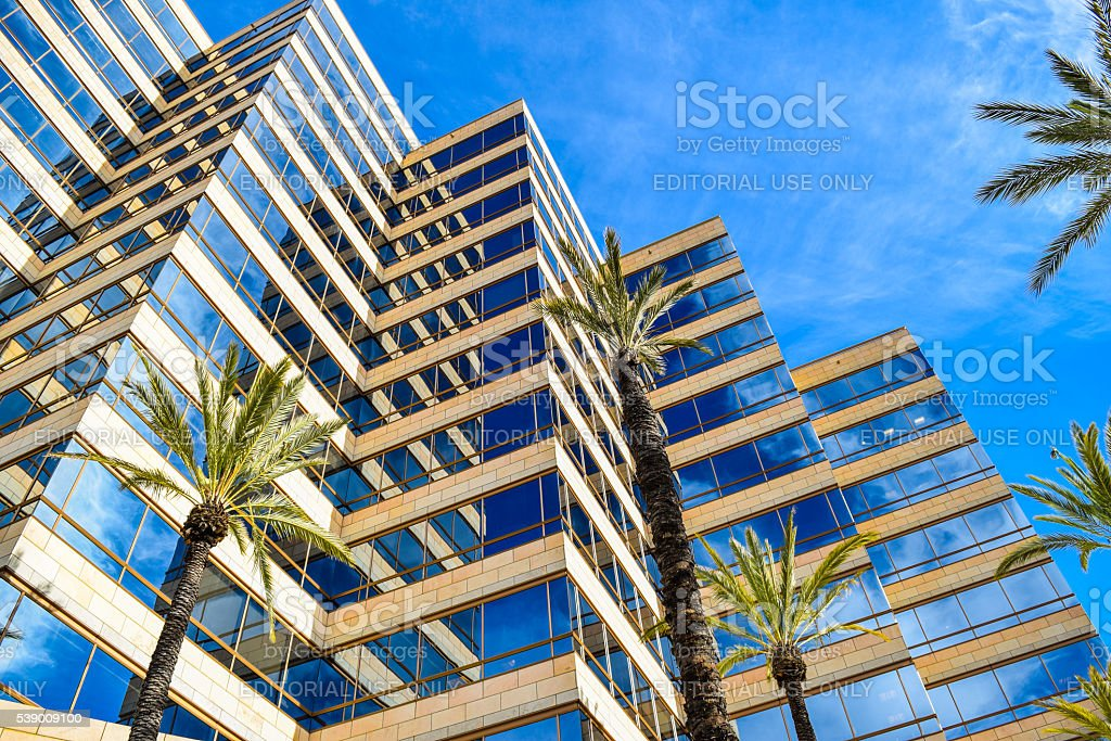Outside views of the  Studio Warner Bros Los Angeles stock photo