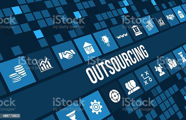 Outsourcing concept image with business icons and copyspace picture id486773820?b=1&k=6&m=486773820&s=612x612&h=45hugbzbz6emi10k2lopad4hz8qx5dphr8vbil7ykr0=