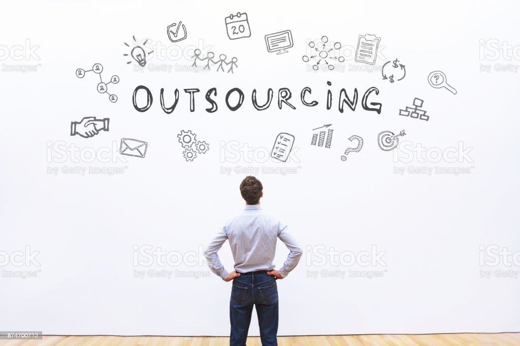 Outsourcing-Konzept – Foto
