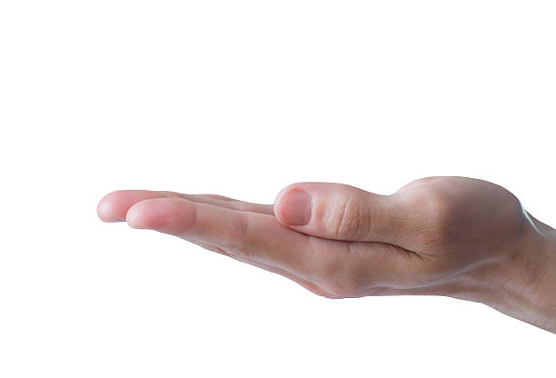 outstretched arm stock photo